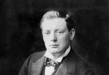 De jonge Winston Churchill in 1900