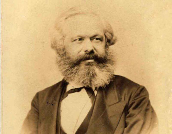 Karl Marx in 1867