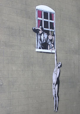 Bnksy Bristol Street