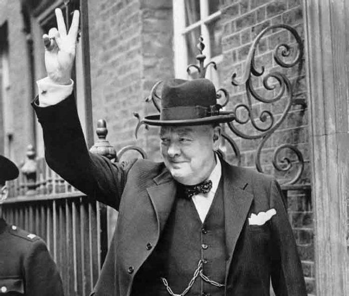 Winston Churchill v-teken