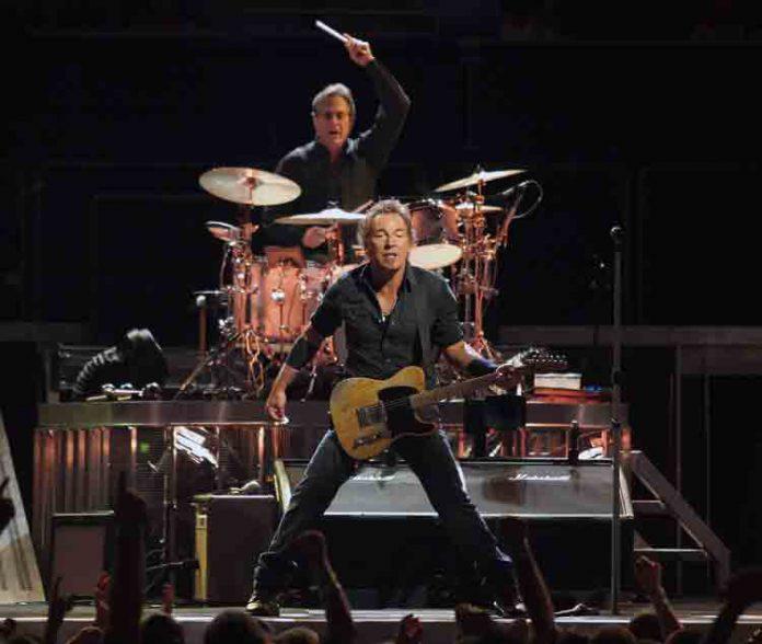 Bruce Springsteen en de E-street Band