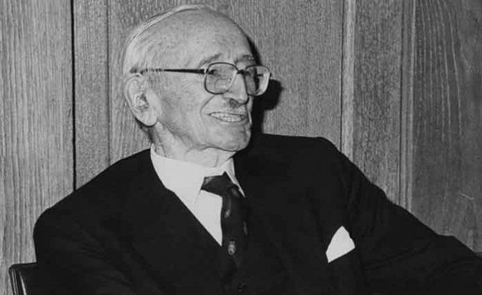 Friedrich Hayek, grondlegger van het neoliberalisme