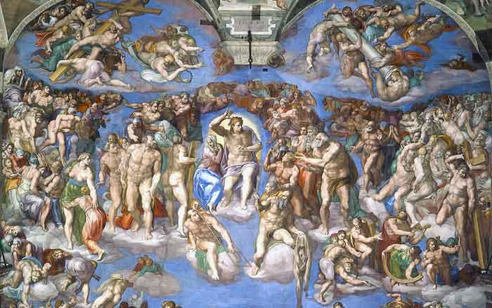 Laatste Oordeel Michelangelo