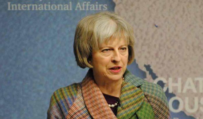 Theresa May biografie