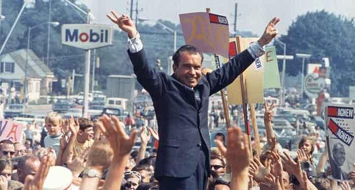 Richard Nixon 1968 campagane