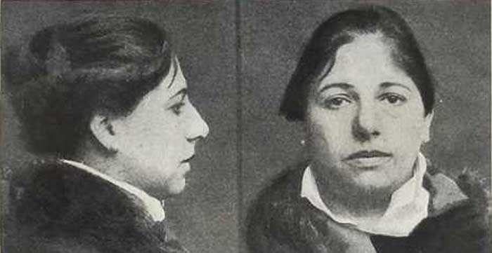 Mata Hari in Saint Lazare 1917