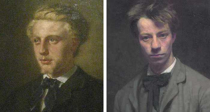 Jacques Perk en Albert Verwey