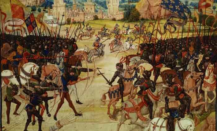 Azincourt 25 oktober 1415