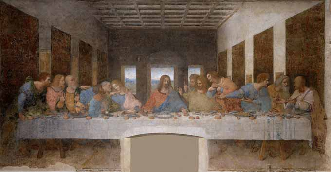 laatste avondmaal Leonardo da Vinci