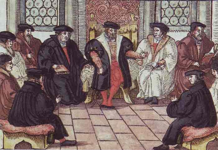 Het dispuut te Leipzig in 1519