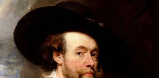 Peter Paul Rubens zelfportret 1623.