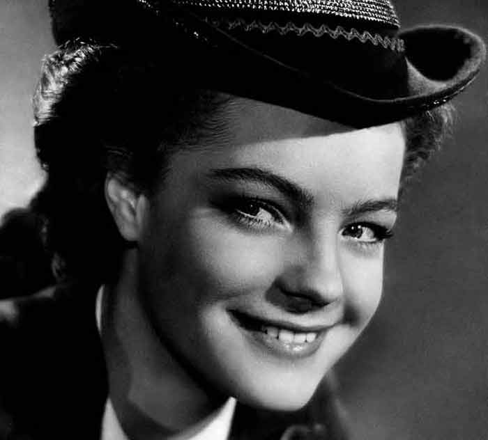Romy Schneider in 1955