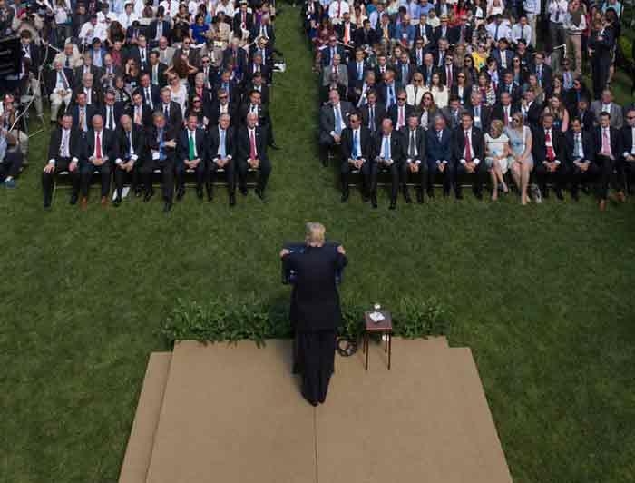 Inauguratie Donald Trump