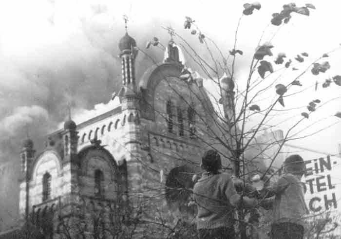 Reichskristallnacht in Bonn