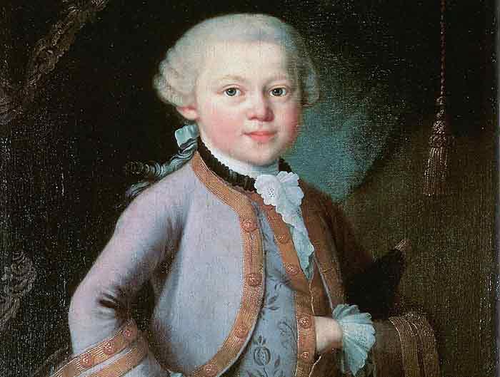 Mozart 6 jaar