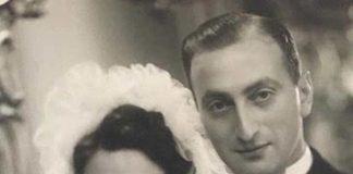 De joodse bruiloft van Barend Broers en Mimi Dwinger