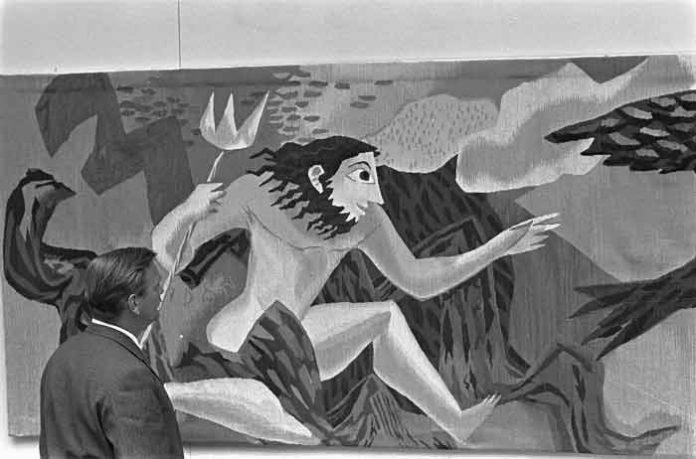 Wandtapijt van Gisèle van Waterschoot van der Gracht