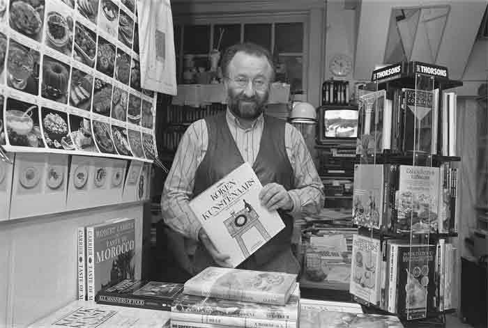Johannes van Dam als boekhandelaar
