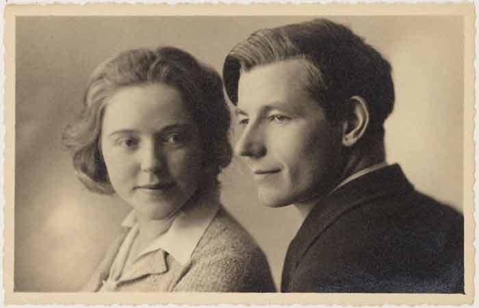 Slauerhoff en Collin in 1934