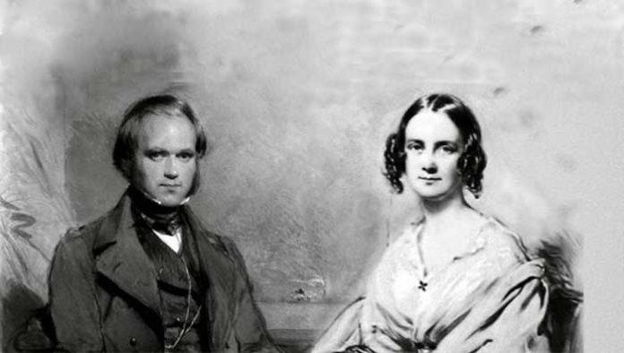 Charles Darwin en Emma Wedgewood