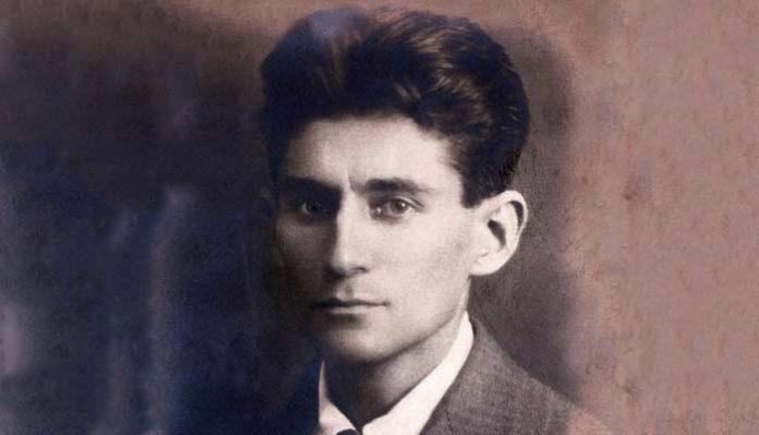 Franz Kafka in 1917