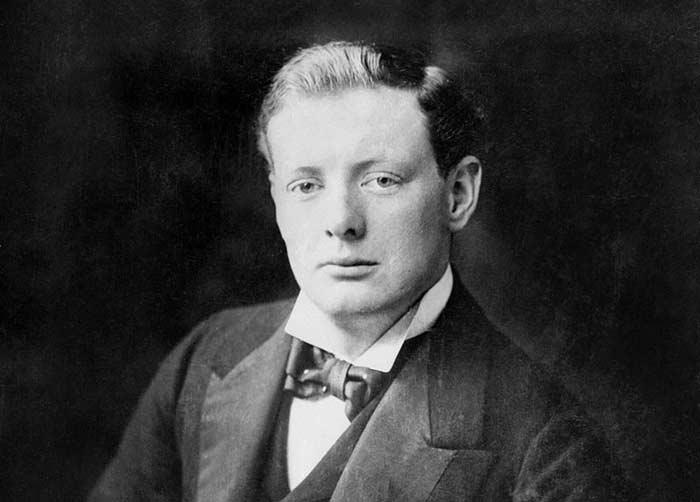 Winston Churchill 1900