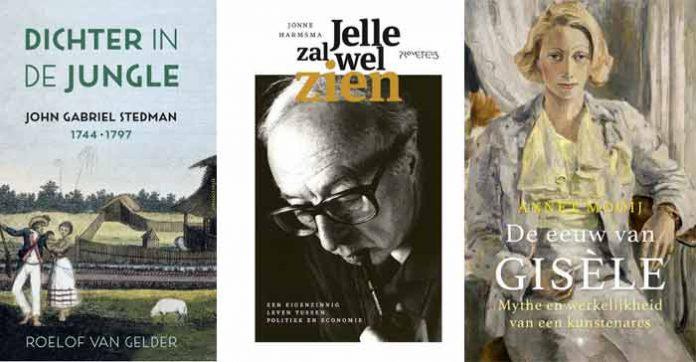 biografieën op Longlist Libris Geschiedenis Prijs 2019